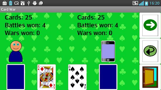 Card War - náhled