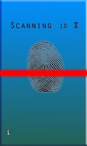 Fingerprint Coolness Scanner ♂