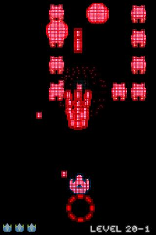 Voxel Invaders (Free)- screenshot