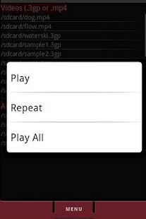 AVPlayer Audio Video Player - screenshot thumbnail