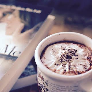 Sea Salted Hot Chocolate.