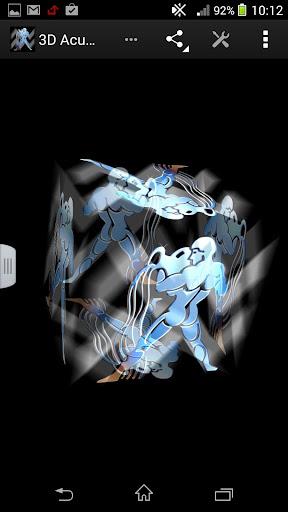3D水瓶座星座壁紙