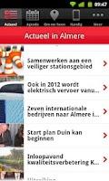 Screenshot of AlmereApp