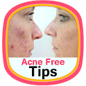 Acne Free Tips icon