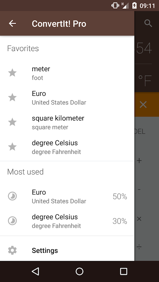 ConvertIt! Unit Converter- screenshot