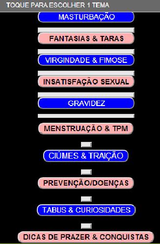 SEXO:INFORMAÇÃO DÚVIDAS DICAS