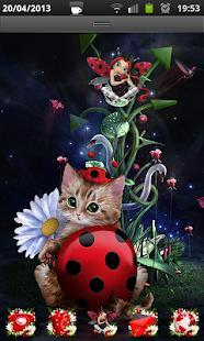 Ladybug's World Go Launcher EX
