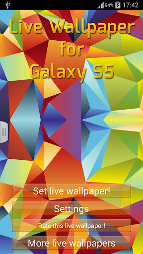 【免費個人化App】Live Wallpaper for Galaxy S5-APP點子