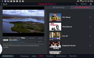 Screenshot of DISH Anywhere