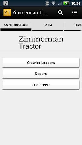 Zimmerman Tractor
