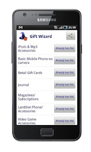 Gift Wizard- screenshot thumbnail
