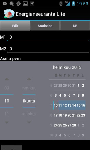Energy monitoring of house