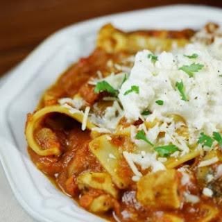 Chicken Lasagna Stew.