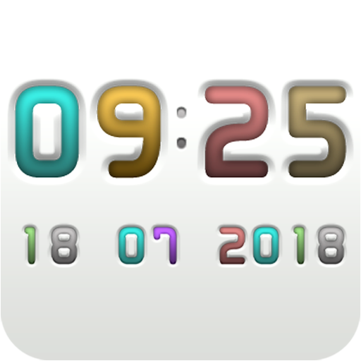 FROOP Digital Clock Widget