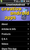 Screenshot of Creative Android Apps