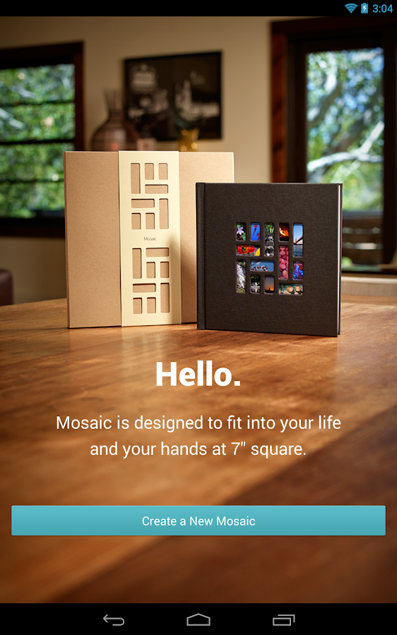 Mosaic Photo Books- screenshot
