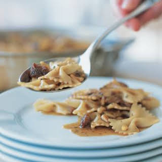 Farfalle with Veal and Pine Nuts.