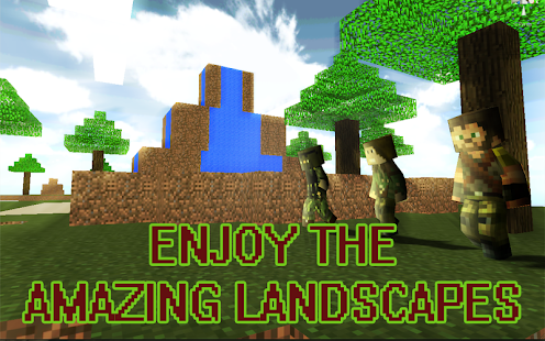 11 Skyblock Island Survival Games App screenshot