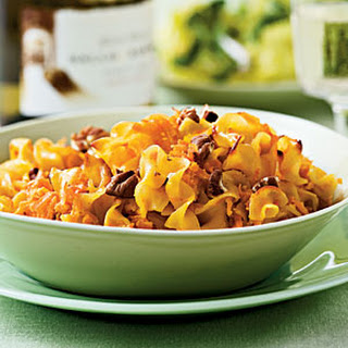 Sweet Potato Noodle Kugel.