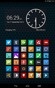 Long Shadow Icon Pack- screenshot thumbnail