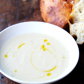 Parsnip & Pear Soup