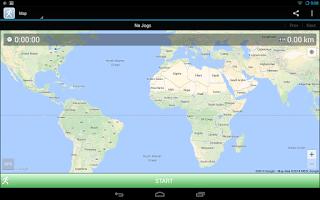 Screenshot of JogTracker
