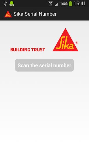 Sika Serial Number