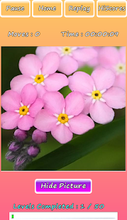 Photo Puzzle Of Flowers Screenshot 2