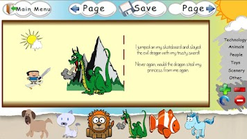 Screenshot of My Story Builder