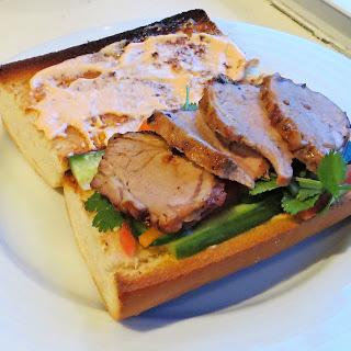 Banh-mi Sandwiches.