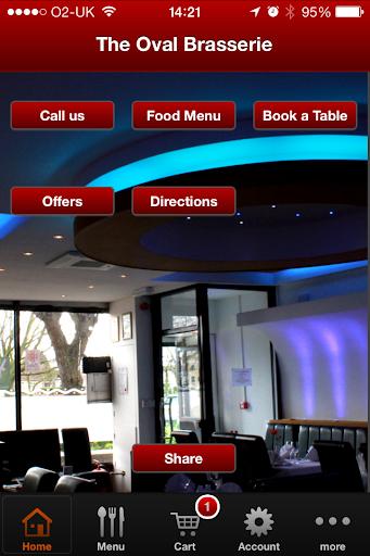 The Oval Brasserie Restaurant