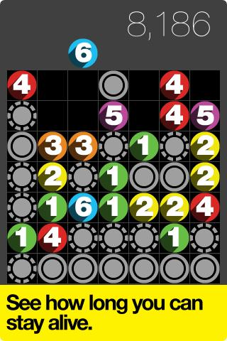 Drop7 by Zynga - screenshot
