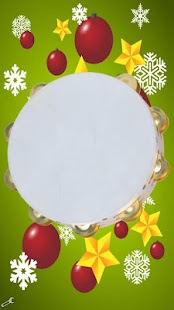 Xmas instrument, tambourine- screenshot thumbnail