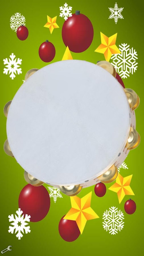 Xmas instrument, tambourine- screenshot