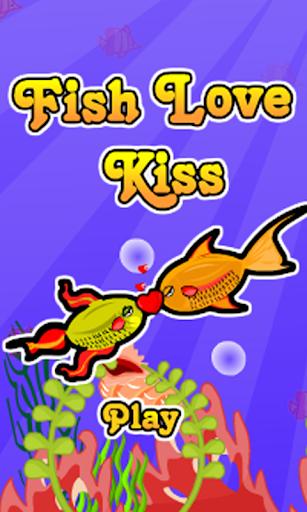 Fun Fish Love Kiss