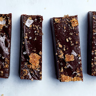 Chocolate Fudge with Bourbon Sugar