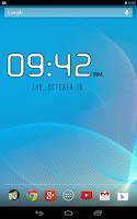 Screenshot of DIGI Clock Widget