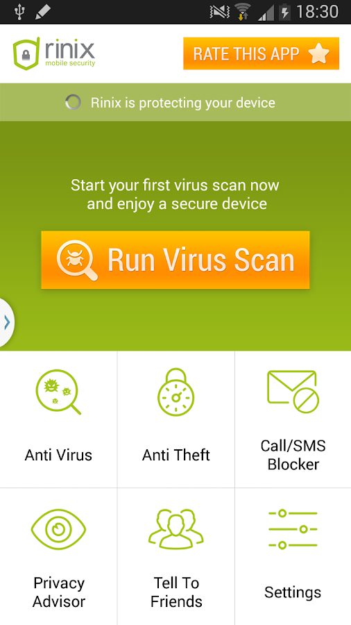 Free Antivirus 2015 +Security - screenshot