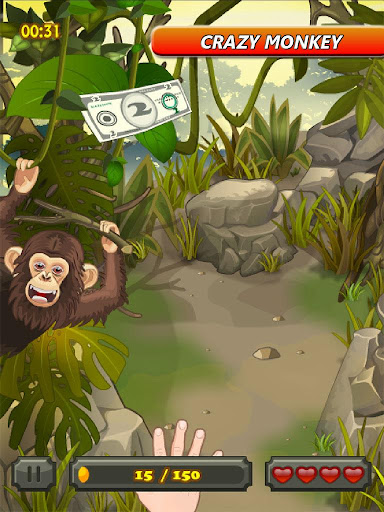 Grab the Money from the Monkey