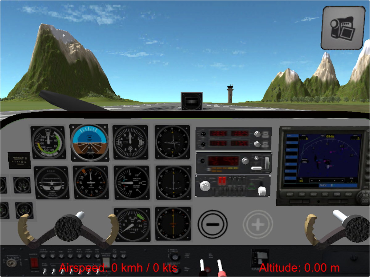 Flight Simulator Cezna Free - screenshot