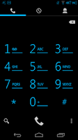 Screenshot of Blue Glow CM11 AOKP Theme