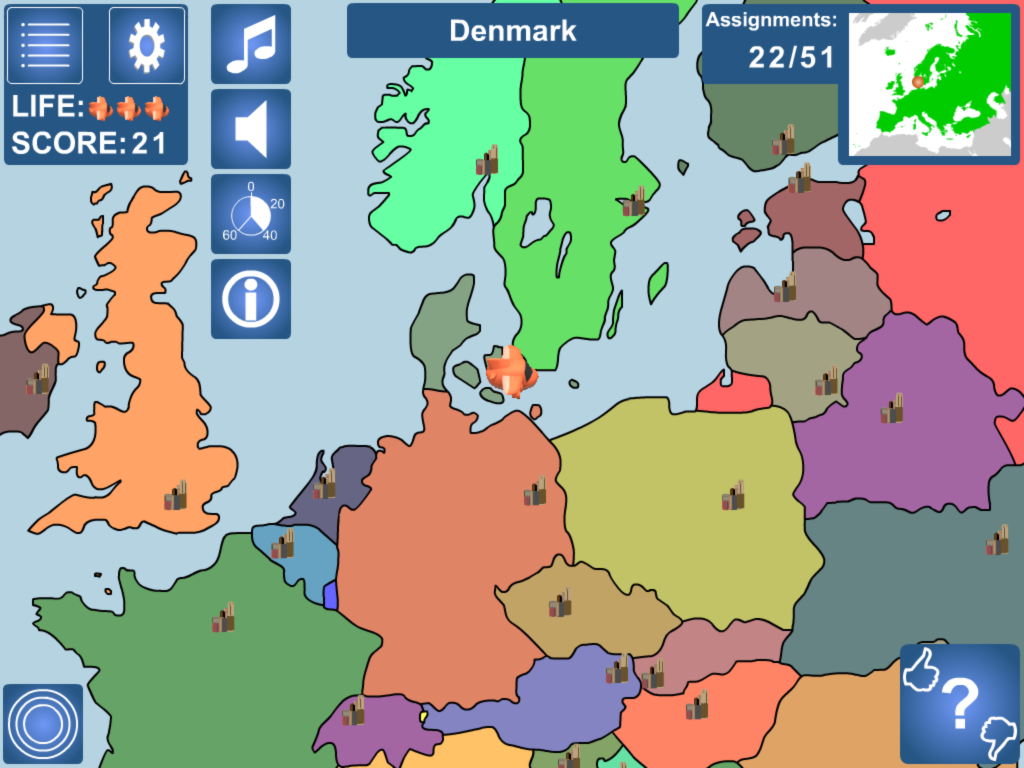 GEOGSMART - Europe - screenshot