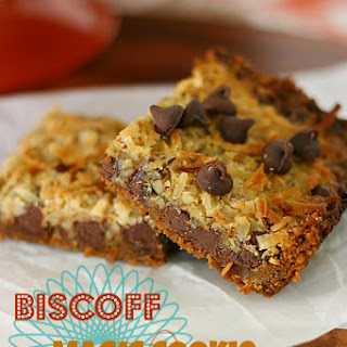 Biscoff Magic Cookie Bars Recipe
