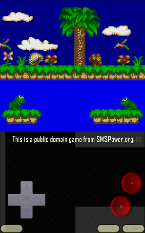 MasterGear - SMS/GG Emulator Screenshot