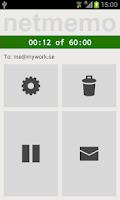 Screenshot of Netmemo Plus Voice Recorder