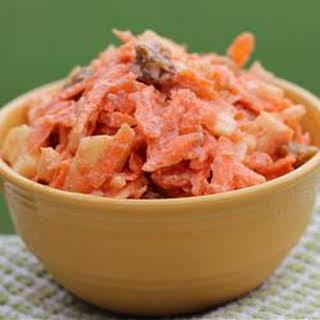 Carrot-Raisin Salad (Bunny Salad).