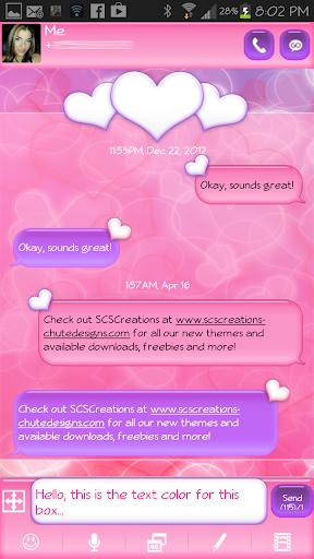 玩免費個人化APP|下載GO SMS - Heart Bliss 4 app不用錢|硬是要APP