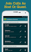 Screenshot of MobileDay One-Touch Dialing