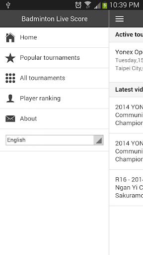 Badminton Live Score