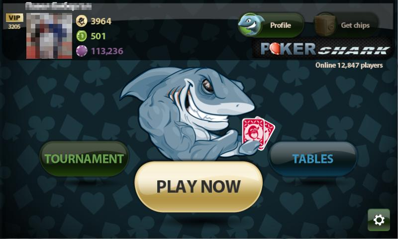 Poker Shark - screenshot